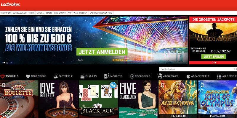Labrokes Casino Review
