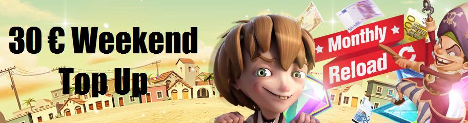 Reload Bonus Redbet Casino