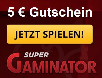 Gratis Gutschein SuperGaminator