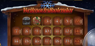 Christmas Calendar Energy Casino