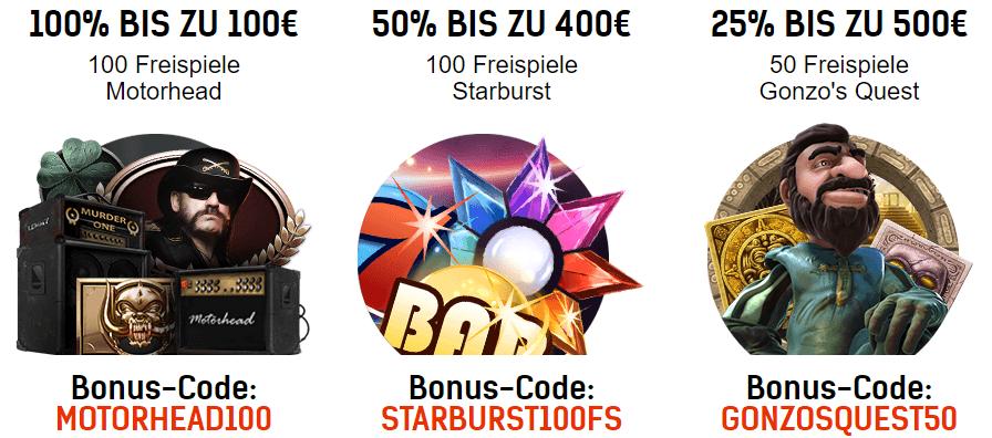 Redbet Casino Willkommens Bonus