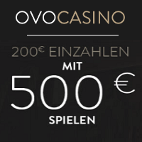 OVO Reload Casino Bonus