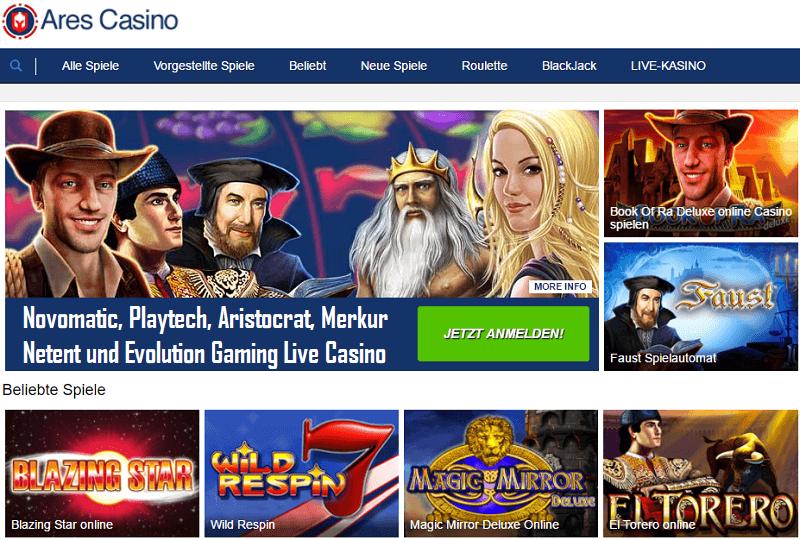erfahrungen mit ares casino