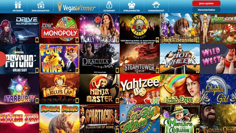 Vegas Winner Casino Lobby
