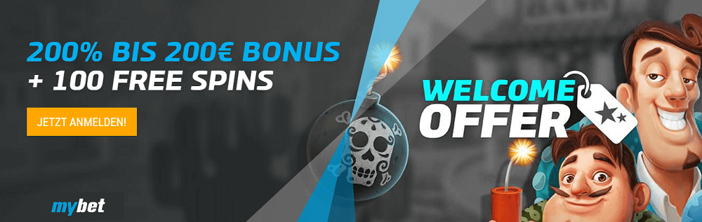 Mybet Casino Willkommens Bonus