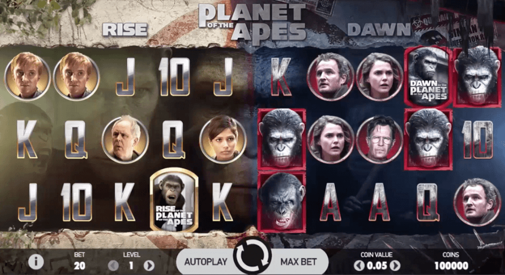 Planet of the Apes Slot Preview