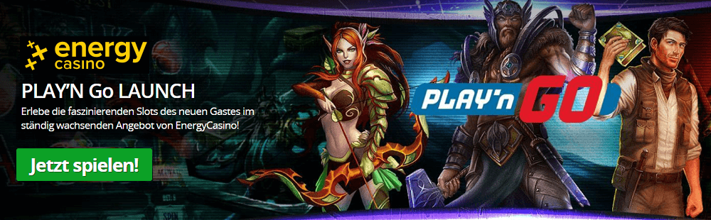 Playn'Go Slots Energy Casino