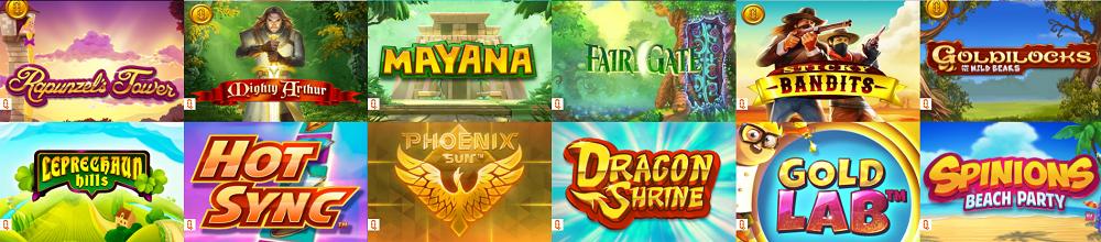 QuickSpin Online Spiele