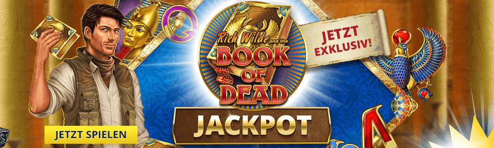 Book of Dead Jackpot Sunmaker