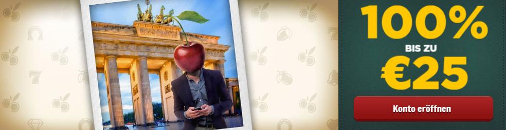 Cherry Casino 25 Bonus