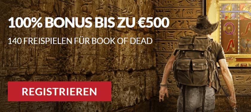 Guts Casino Book of Dead Freispiele