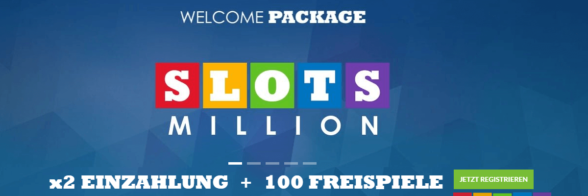 Slots Million Casino Willkommens Bonus
