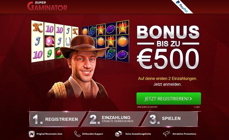 Supergaminator Casino Erfahrungen